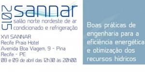 08/04: 16ª edição do Salão Norte Nordeste de Ar- Condicionado e Refrigeração em Recife