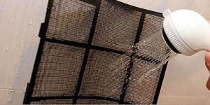 Cuidado com produtos utilizados na limpeza do ar-condicionado