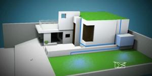 Telhado verde criado por morador de São Luis economiza até 40% de água