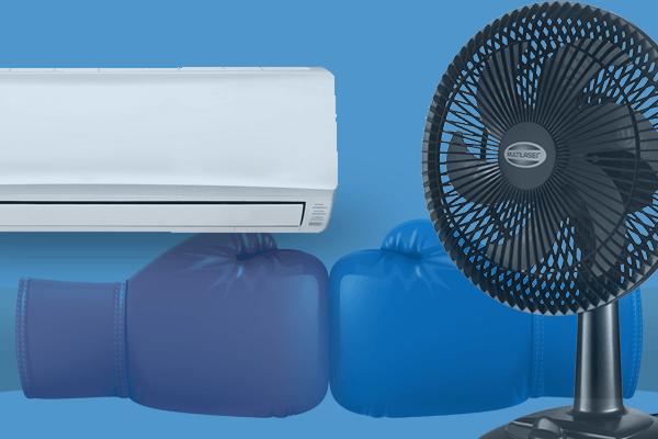 O que Gasta mais Energia Ventilador ou Ar-Condicionado