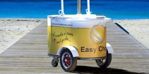 Conheça o carrinho de chopp com sistema de refrigeração ecologicamente correto