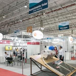 Empresas apresentaram novidades para as áreas comerciais, industriais e residenciais