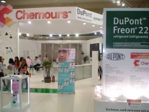 Chemours apresentou sua linha Opteon na Febrava