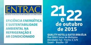 21/10 – Entrac: Encontro Tecnológico de Refrigeração e Ar Condicionado em Brasília