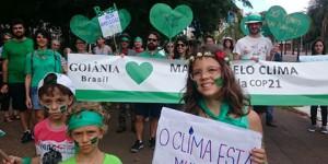 Marcha pelo Clima em Goiânia
