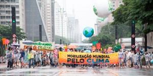 Marcha pelo Clima em São Paulo