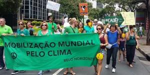Marcha pelo Clima em Belo Horizonte
