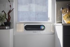 Ar-condicionado janela com design inovador