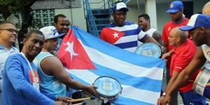 Atletas cubanos compraram aparelhos de ar condicionado para levar ao seu país