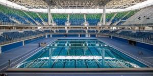 Ventilação do Estádio Aquático era discutida em abril