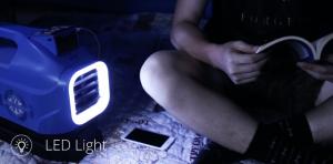Pode ser usado como uma luminária de LED