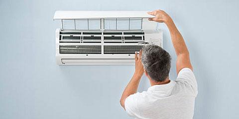ar-condicionado limpeza manutenção inverno