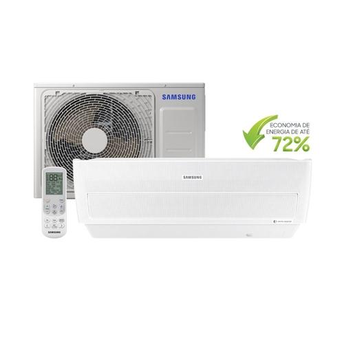 Ar Condicionado Split 12000 BTU Quente/Frio Wind Free - Inverter - SAMSUNG - 220v - AR12NSPXBWK/AZ