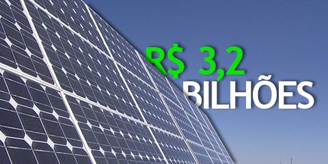 Governo investe em energia solar no Brasil