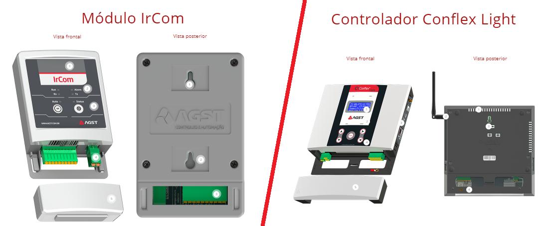 modulo-ircom-controlador-conflex-light