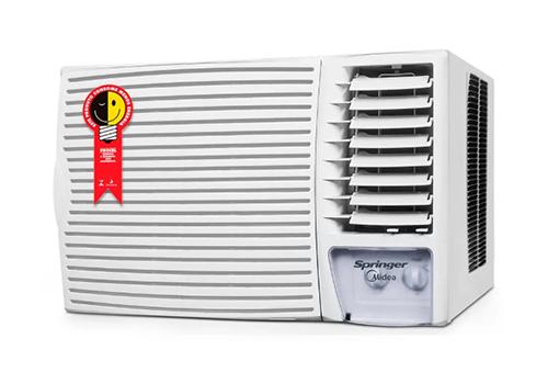 Ar Condicionado Janela Mecânico 18000 BTU Frio - SPRINGER MIDEA - 220v - ZCI185BB