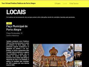 Atividade de aniversário de Porto Alegre