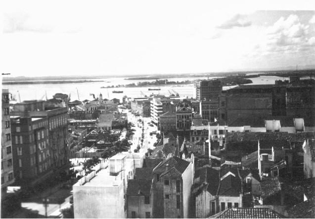 Vista da Borges de Medeiros em Porto Alegre