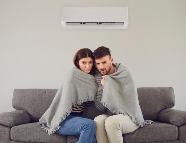 Usar Ar-Condicionado Inverno