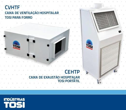 Caixas ventilação exaustão Tosi