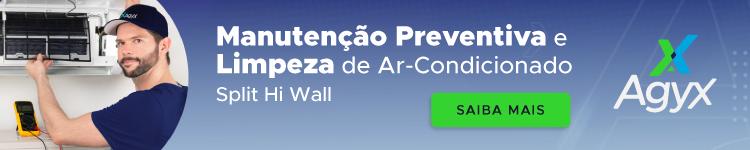 ar-condicionado manutenção preventiva limpeza agyx