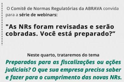 ABRAVA webinar Normas Regulatórias