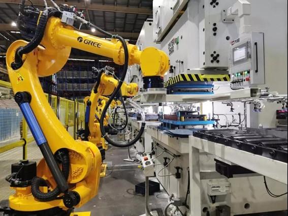 Robôs Industriais da Gree