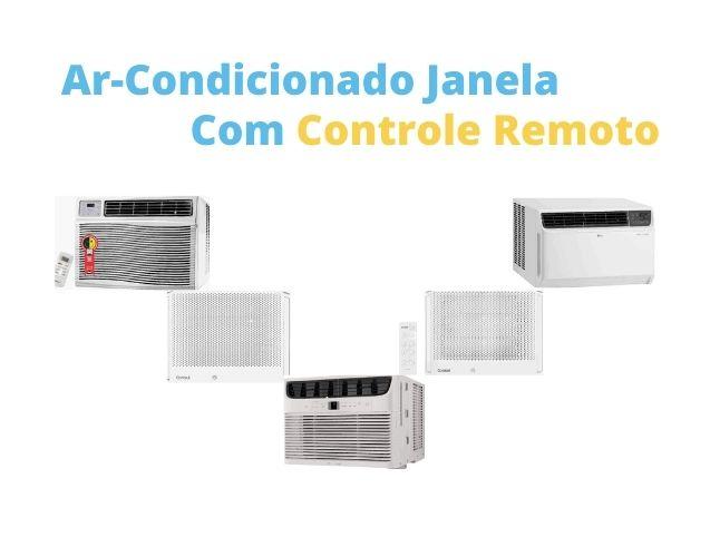 ar-condicionado janela com controle