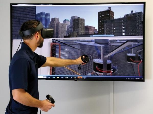 Curso de ar-condicionado realidade virtual