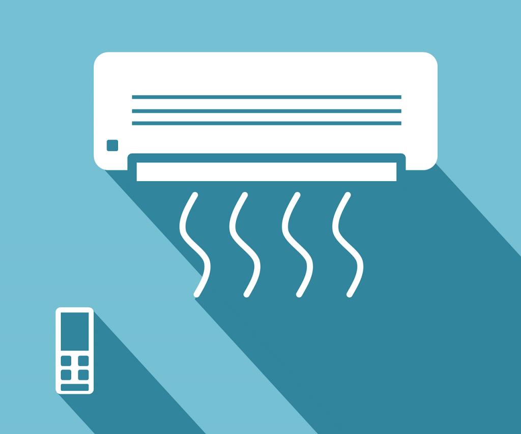 função auto no ar-condicionado